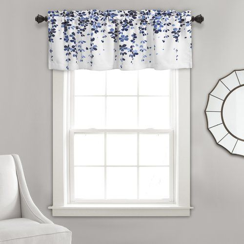 Ariana Cotton Oversized Ruffle Valance White 50X18"