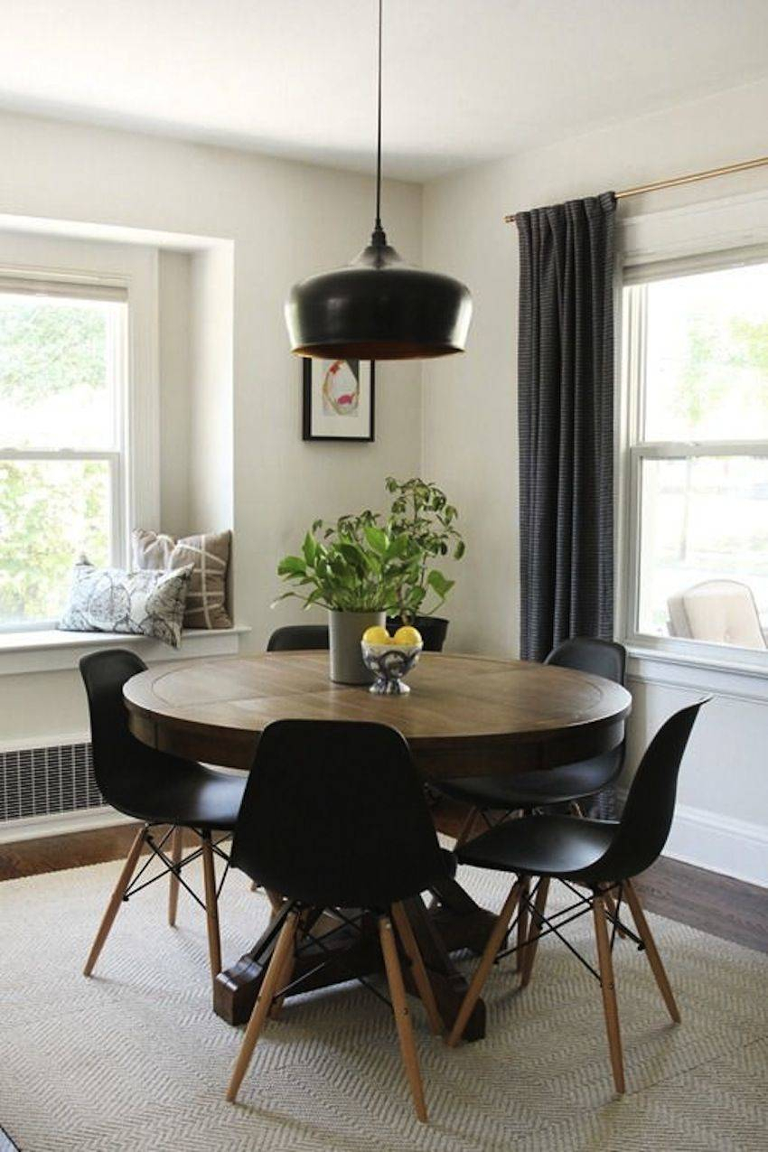Astonishing Modern Circle Kitchen Table Adorable Round Throughout Current Brooks Round Dining Tables (View 23 of 25)