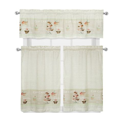 """August Grove Cherry 52"""" Curtain Valance 