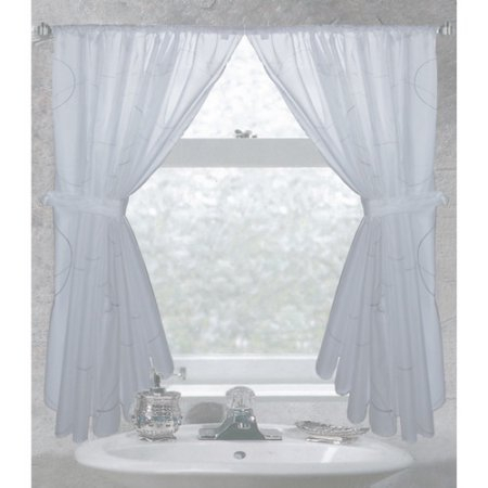 Ava Fabric Window Curtain, Multicolor | Products In 2019 With Tranquility Curtain Tier Pairs (View 15 of 25)