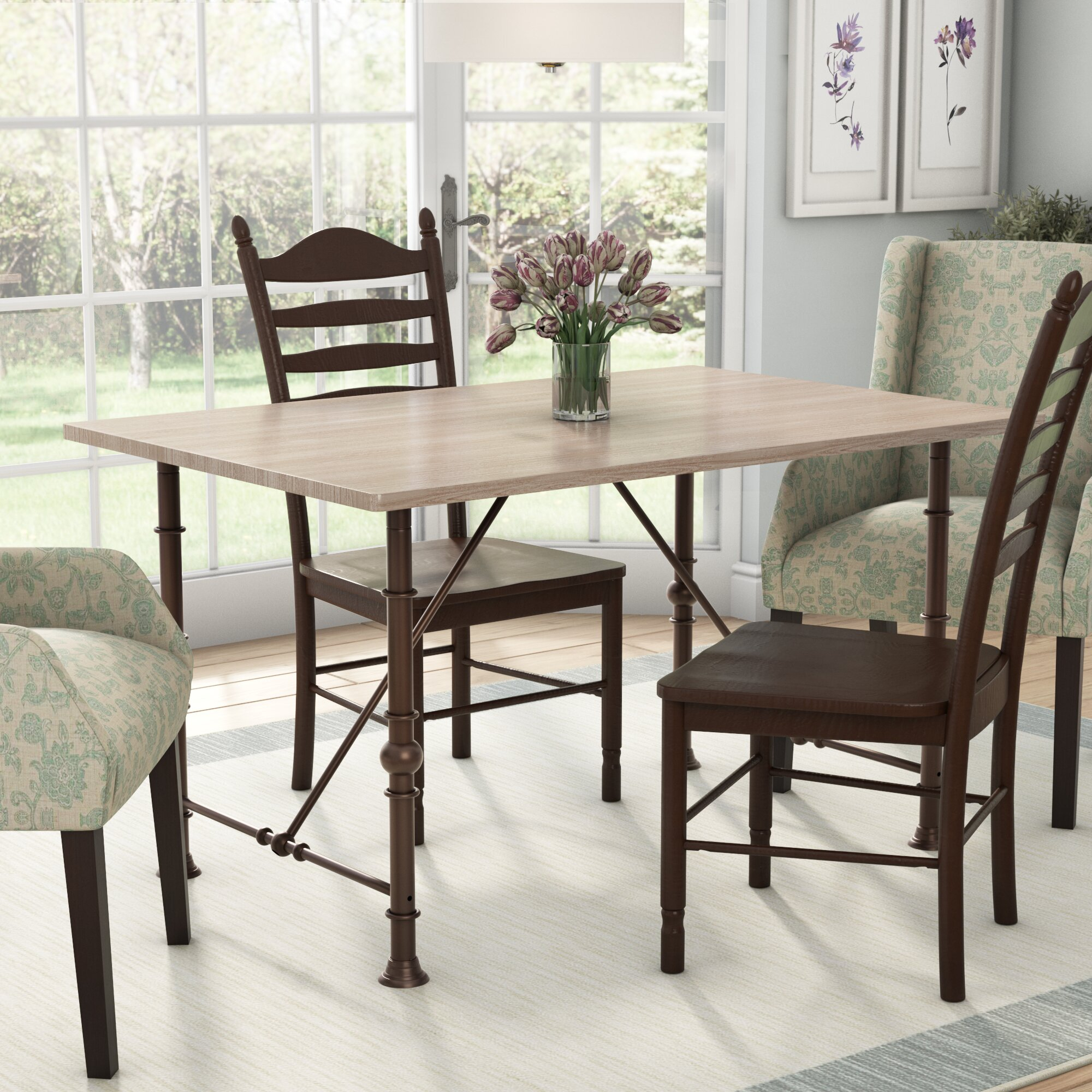 Avery Dining Table With 2018 Avery Rectangular Dining Tables (View 5 of 25)