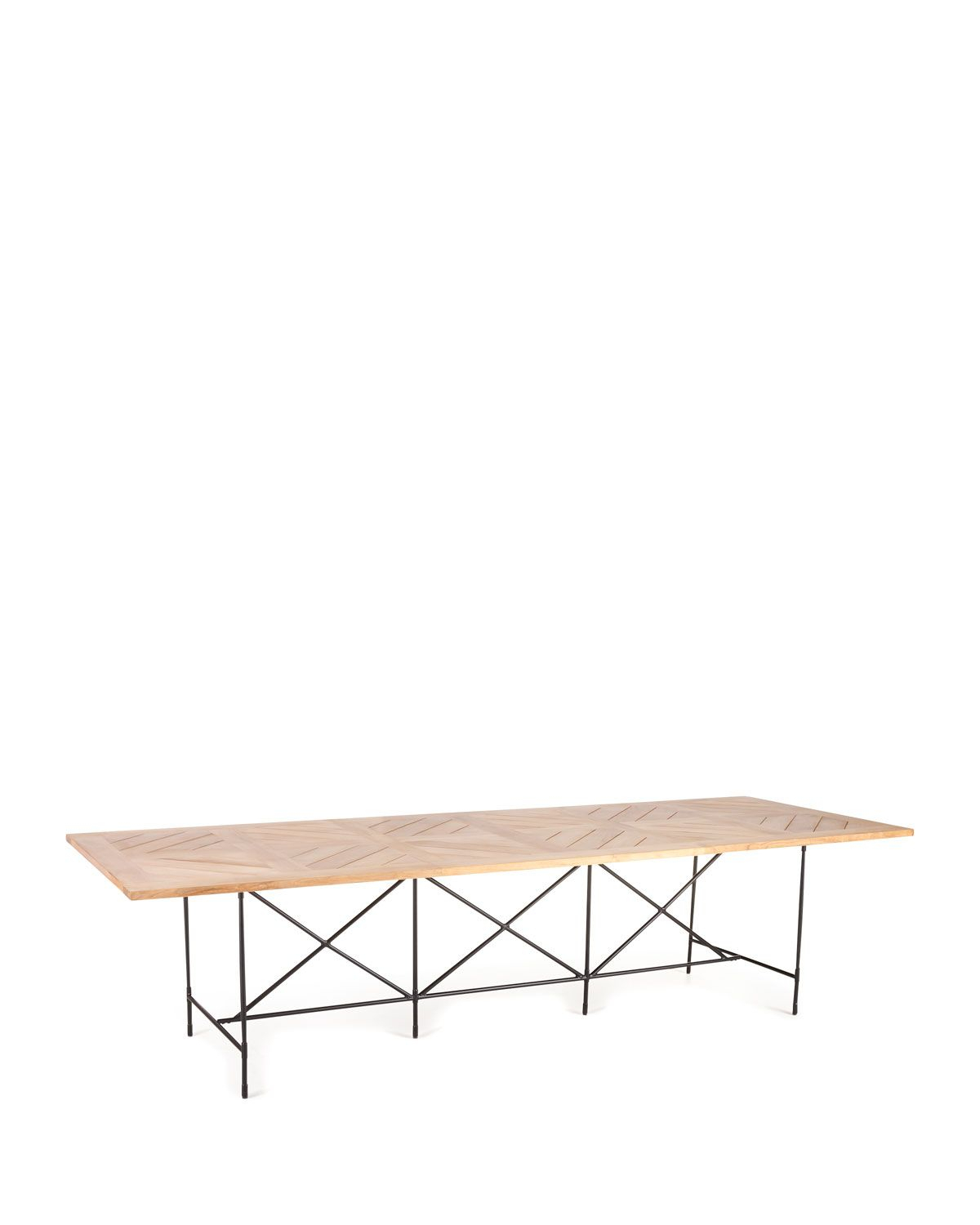 Avery Neoclassical 122L Outdoor Dining Table In 2019 For 2017 Avery Rectangular Dining Tables (View 10 of 25)
