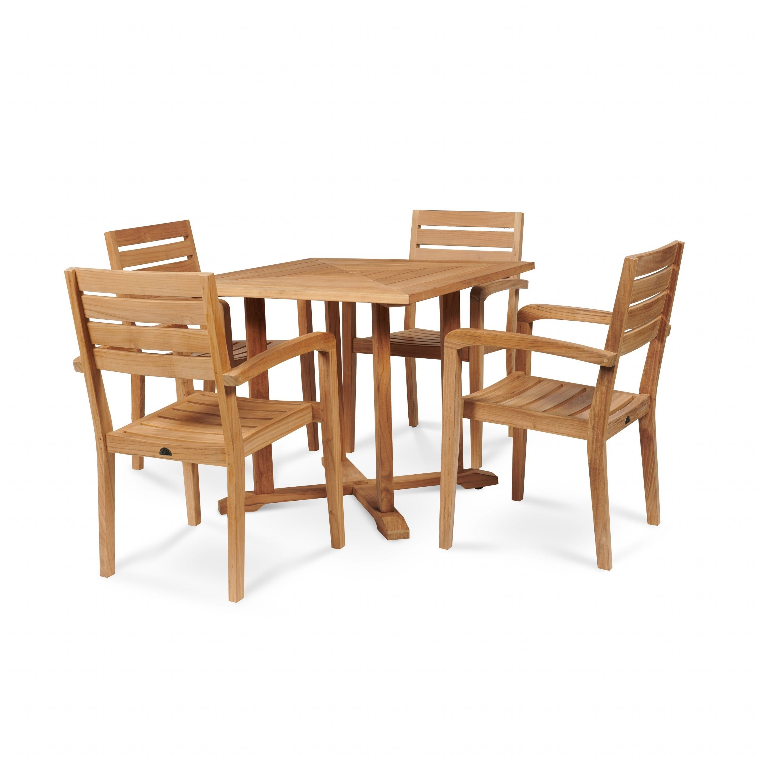 Avery Outdoor Square Teak Dining Table Within Most Popular Avery Rectangular Dining Tables (View 19 of 25)