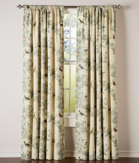 Featured Image of Aviary Window Curtains
