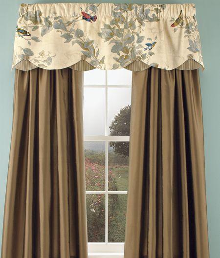 Aviarycountry Curtains | Well Dressed Windows Pertaining To Aviary Window Curtains (Photo 7 of 25)