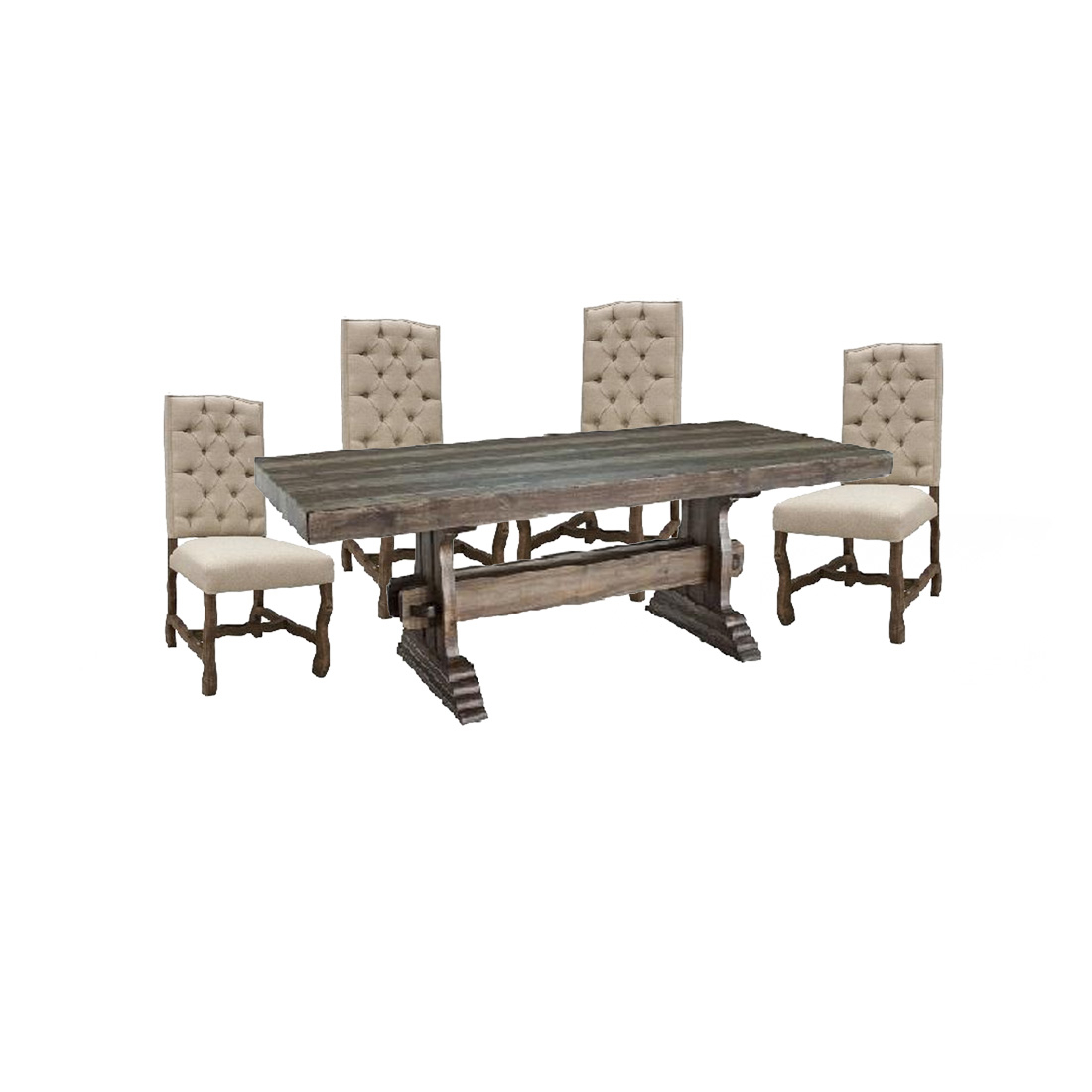 Avondale Dining Set – 4 State Rustic Furniture Regarding Most Popular Avondale Dining Tables (View 10 of 25)