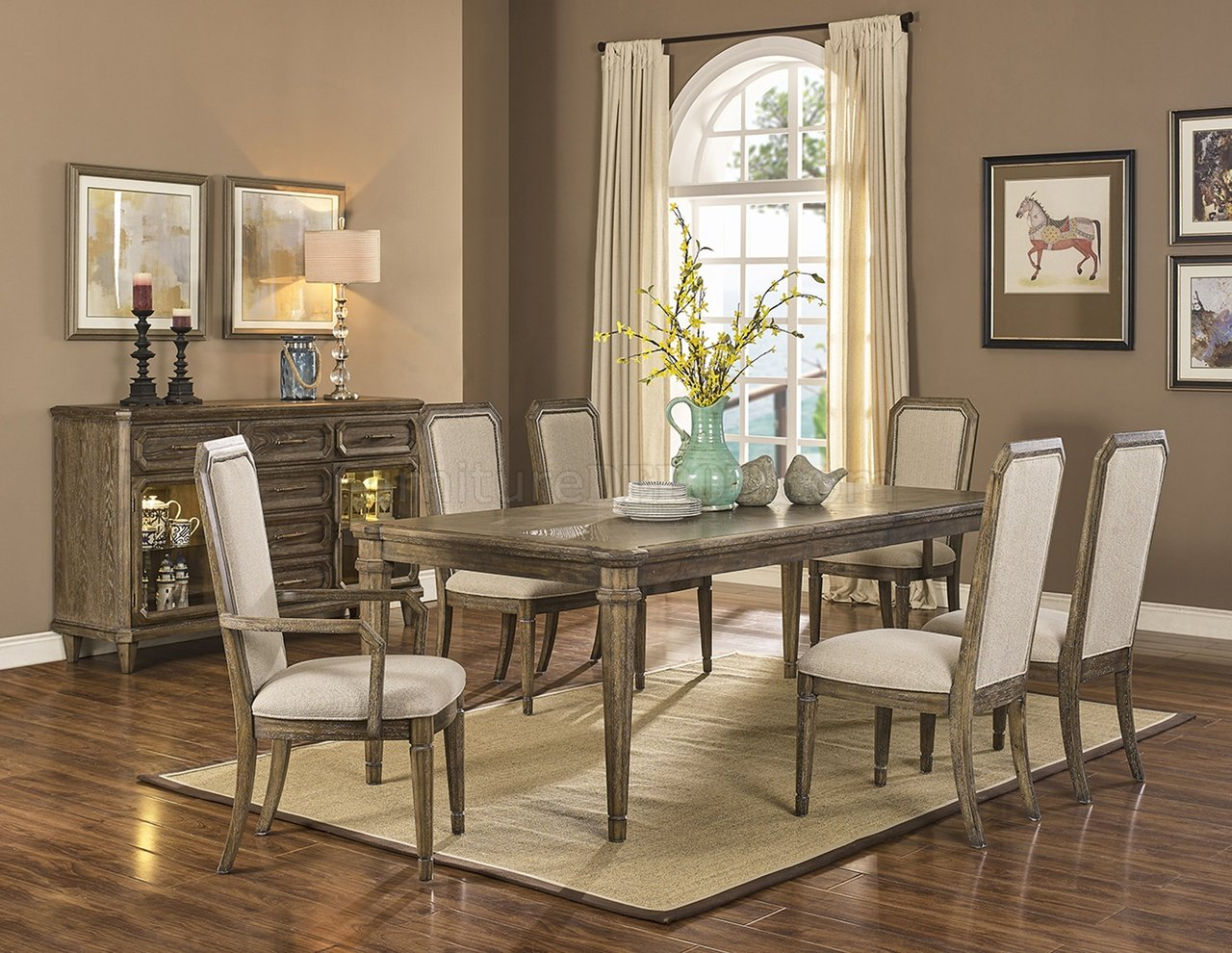 Avondale Dining Set 5Pc In Vinicolencfurniture W/options Throughout Newest Avondale Dining Tables (View 19 of 25)