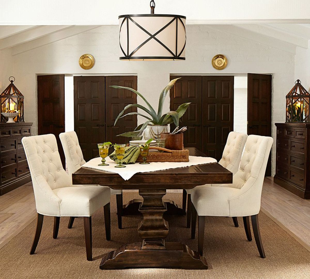 Banks Extending Dining Table – Alfresco Brown (234 – 325 Cm) Within Most Recent Black Wash Banks Extending Dining Tables (View 2 of 25)