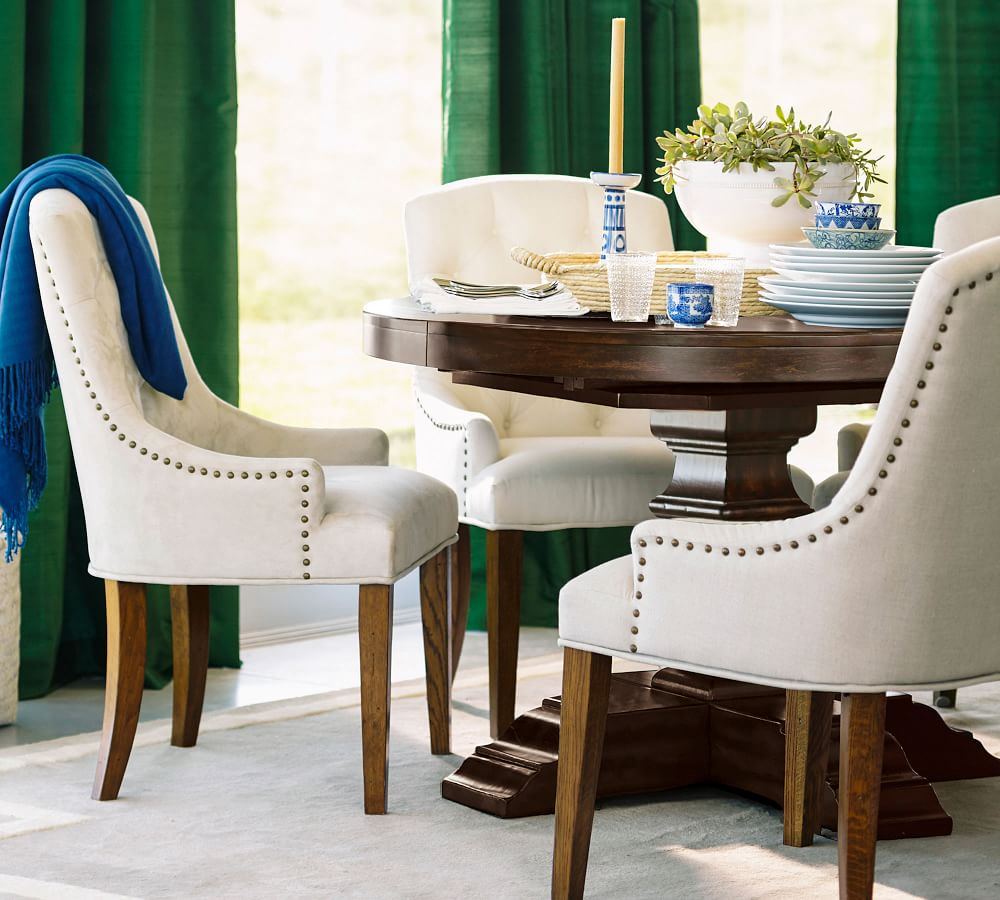 Banks Extending Pedestal Dining Table With Regard To Most Current Alfresco Brown Banks Pedestal Extending Dining Tables (View 6 of 25)