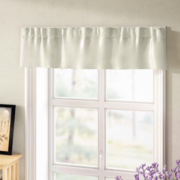 Basement Window Curtains | Wayfair For Class Blue Cotton Blend Macrame Trimmed Decorative Window Curtains (View 22 of 25)