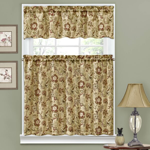 Bathroom Tiers And Valances | Wayfair Intended For Tree Branch Valance And Tiers Sets (View 23 of 25)