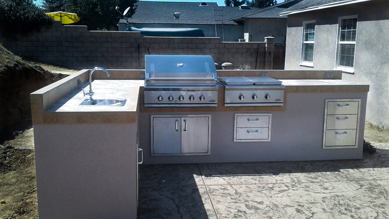 Bbq Islands Upland | Extreme Backyard Designs Intended For Recent Upland Marble Kitchen Islands (View 12 of 25)