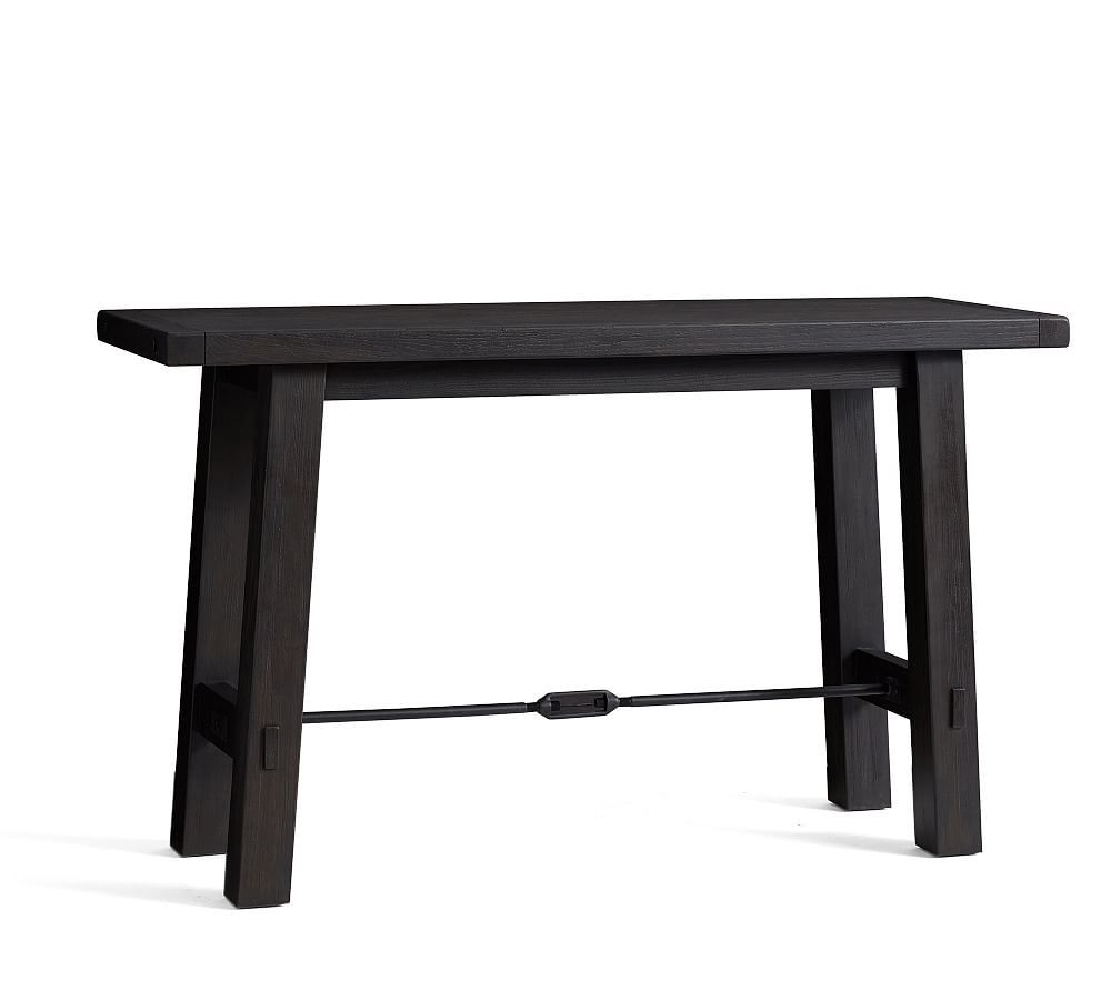 Benchwright Bar Height Dining Table In 2019 | Products | Bar With Regard To Most Popular Blackened Oak Benchwright Dining Tables (Image 7 of 25)