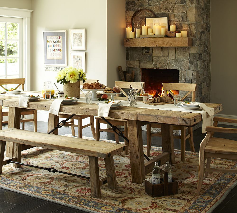 Featured Image of Alfresco Brown Benchwright Extending Dining Tables