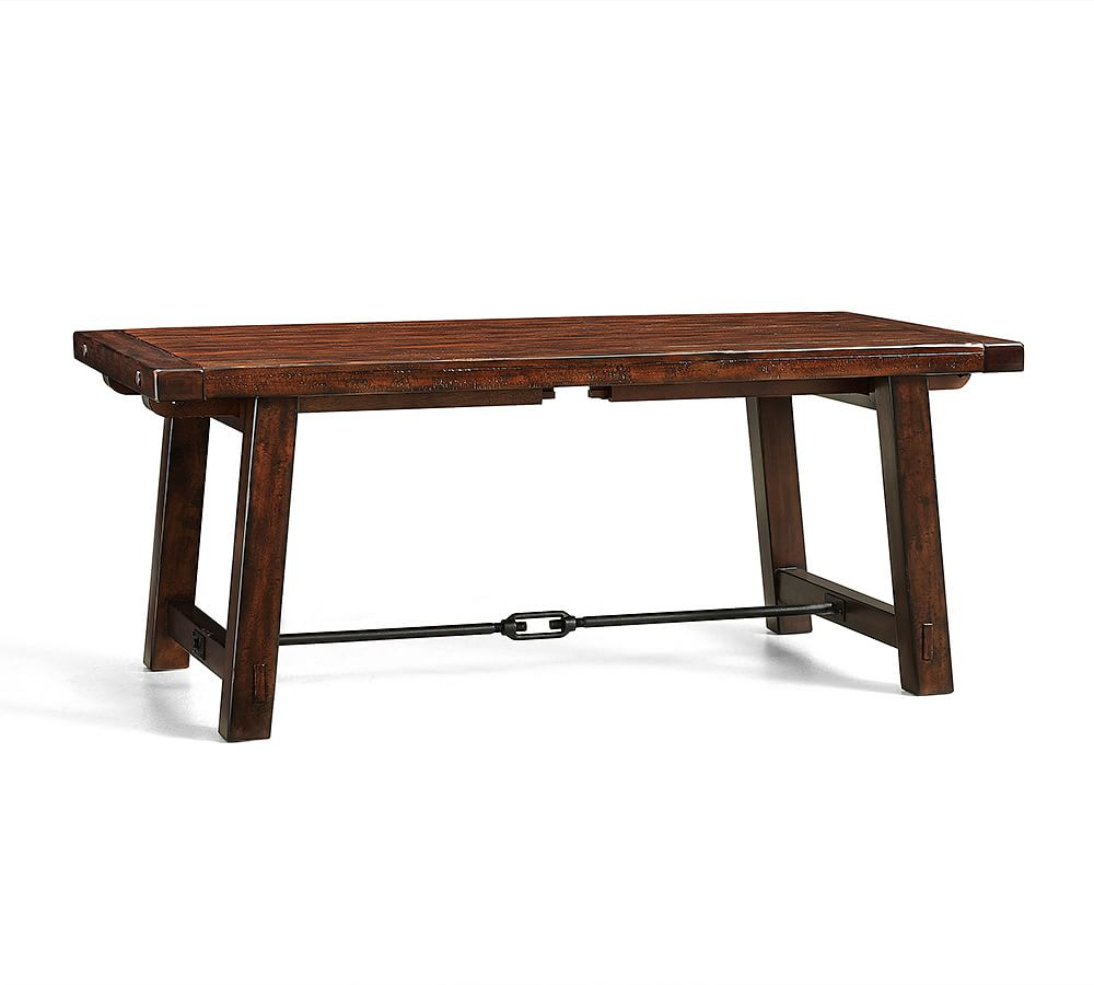 """Benchwright Extending Dining Table, Seadrift, 60"""" – 84"""" L In Within Most Current Seadrift Benchwright Extending Dining Tables (View 2 of 25)"""