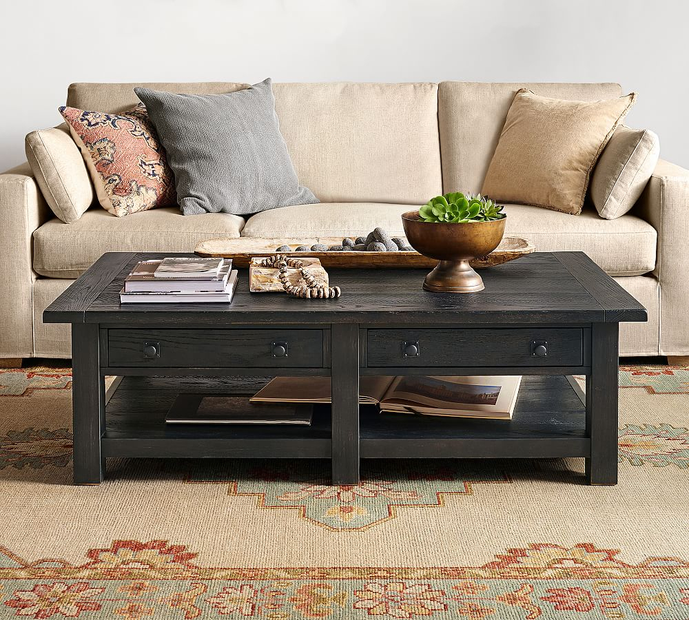 Benchwright Grand Coffee Table   Products   Furniture, Table Pertaining To Most Popular Gray Wash Benchwright Dining Tables (View 11 of 25)