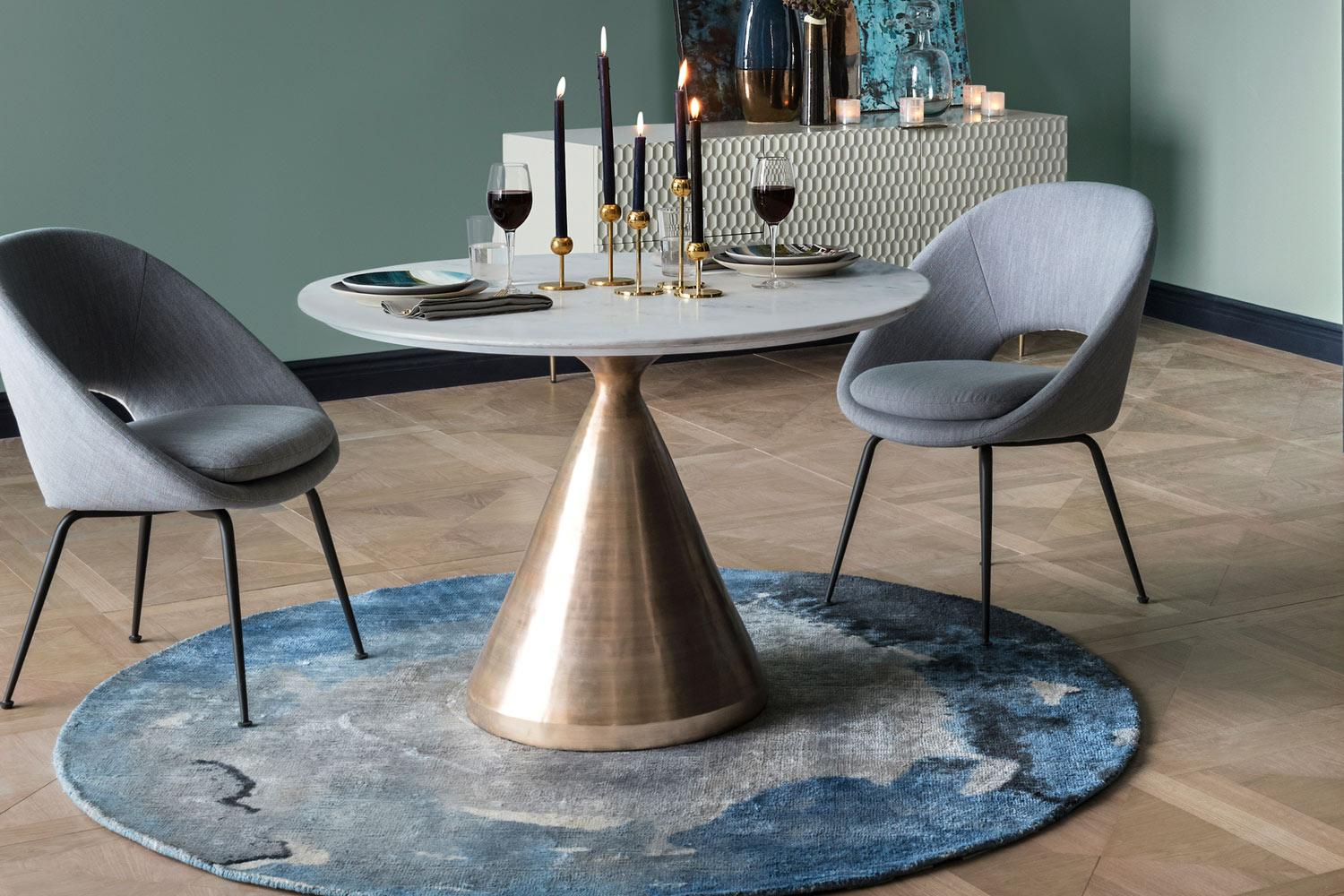 Best Dining Tables: The Best Stylish Dining Room Tables 2019 Pertaining To Most Up To Date Aztec Round Pedestal Dining Tables (View 9 of 25)