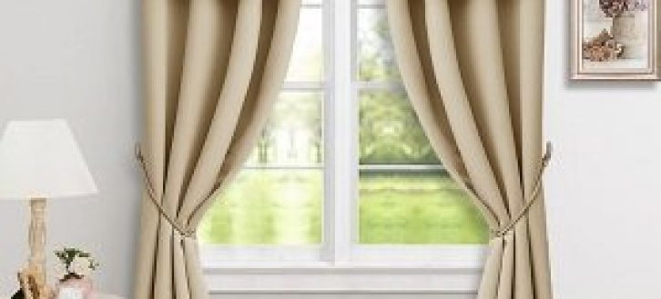 Best Room Darkening Window Valances – Recipes With More Pertaining To Geometric Print Microfiber 3 Piece Kitchen Curtain Valance And Tiers Sets (View 19 of 25)