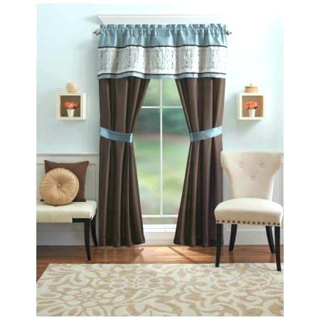Better Homes And Gardens Valances – Ironhorseinn Pertaining To Chocolate 5 Piece Curtain Tier And Swag Sets (View 19 of 25)