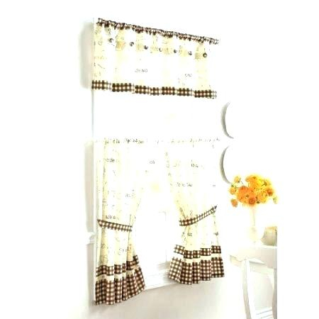 Better Homes And Gardens Valances – Ironhorseinn Throughout Embroidered 'coffee Cup' 5 Piece Kitchen Curtain Sets (View 9 of 25)