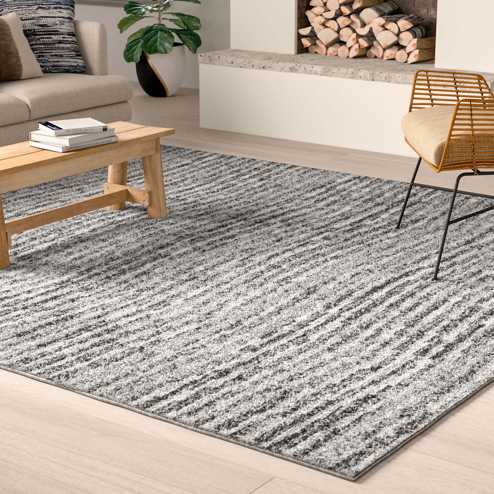 Bismark Gray Area Rug Pertaining To Newest Bismark Dining Tables (View 23 of 25)