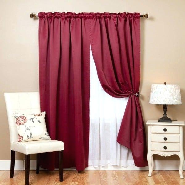 Blackout Sheer Curtains – Cyberjustice (View 20 of 25)