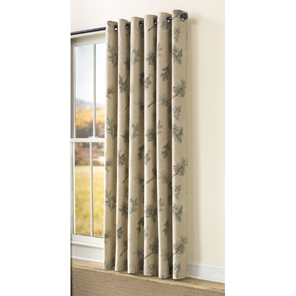 Branch Curtains   Wayfair For Floral Blossom Ink Painting Thermal Room Darkening Kitchen Tier Pairs (View 18 of 25)