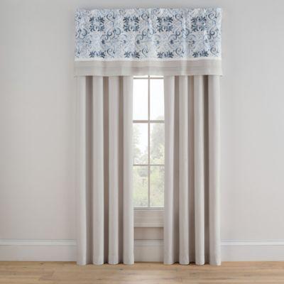 Bridge Street Porto 84 Inch Rod Pocket Window Curtain Panel Inside Tranquility Curtain Tier Pairs (View 6 of 25)