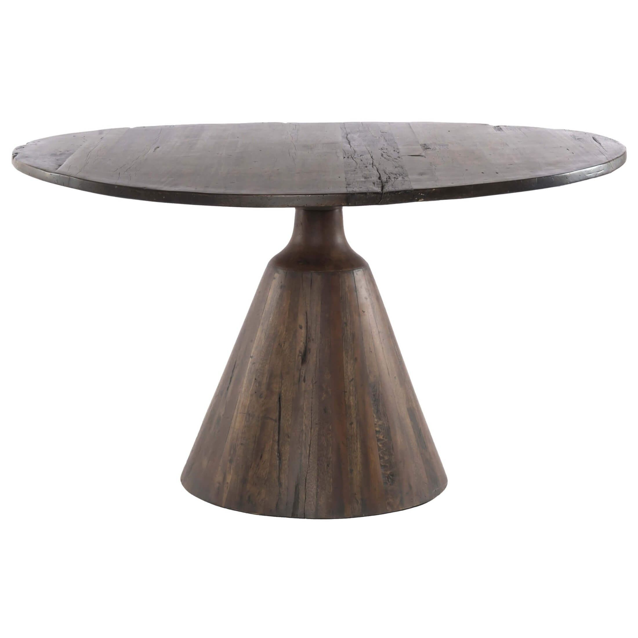 Bronx Bistro Table | Lincoln | Round Pedestal Dining Table With Regard To Best And Newest Warner Round Pedestal Dining Tables (View 3 of 25)