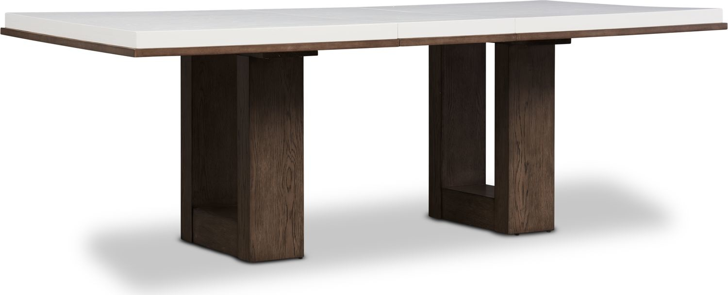 Brooks Dining Table – White | Products In 2019 | Bedroom Within Most Current Brooks Dining Tables (View 3 of 25)