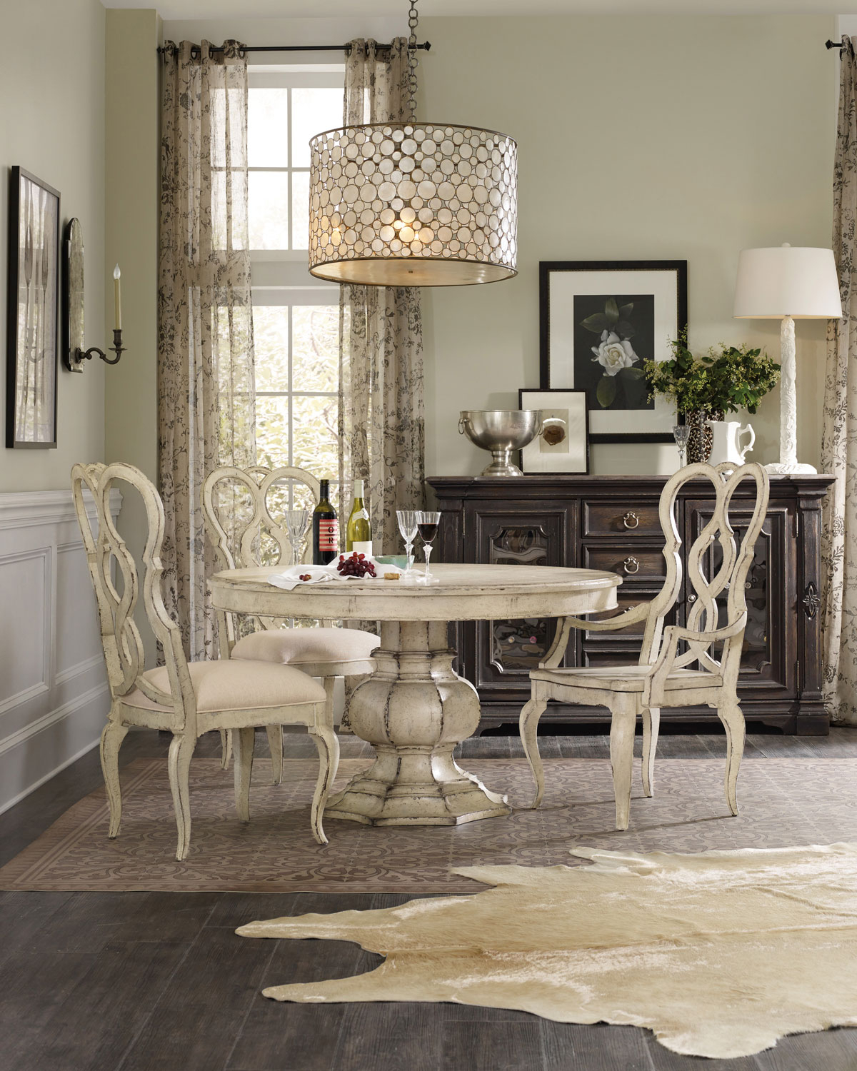Brooks Pedestal Dining Table Regarding 2018 Brooks Dining Tables (View 20 of 25)