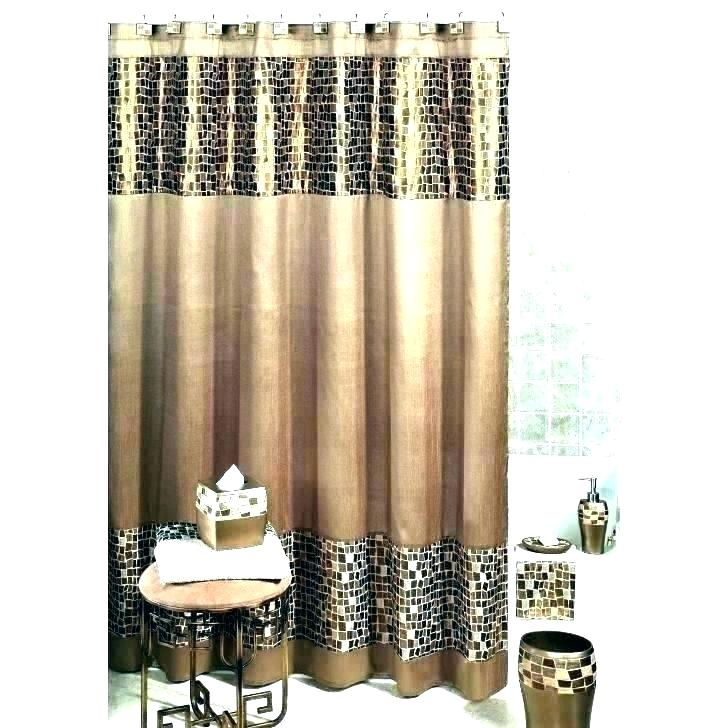 Brown And Tan Curtains – Garsoz Inside Kitchen Burgundy/white Curtain Sets (View 8 of 25)