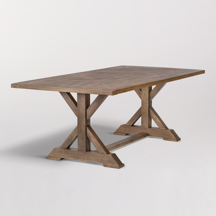 Bryant 84″ Dining Table – Alder & Tweed Furniture With Regard To Most Up To Date Alder Pub Tables (Image 9 of 25)