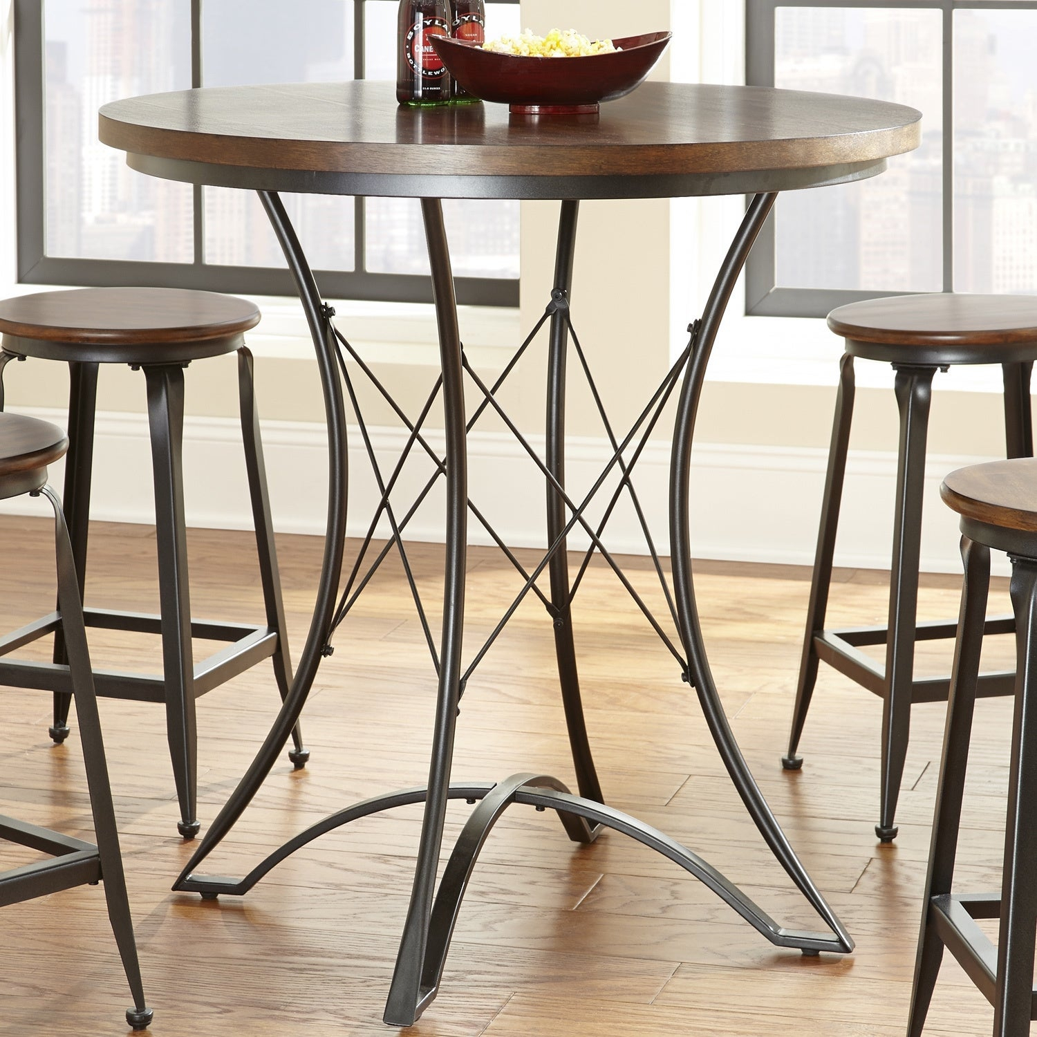 Buy Bar & Pub Tables Online At Overstock | Our Best Dining In Latest Alder Pub Tables (Image 10 of 25)