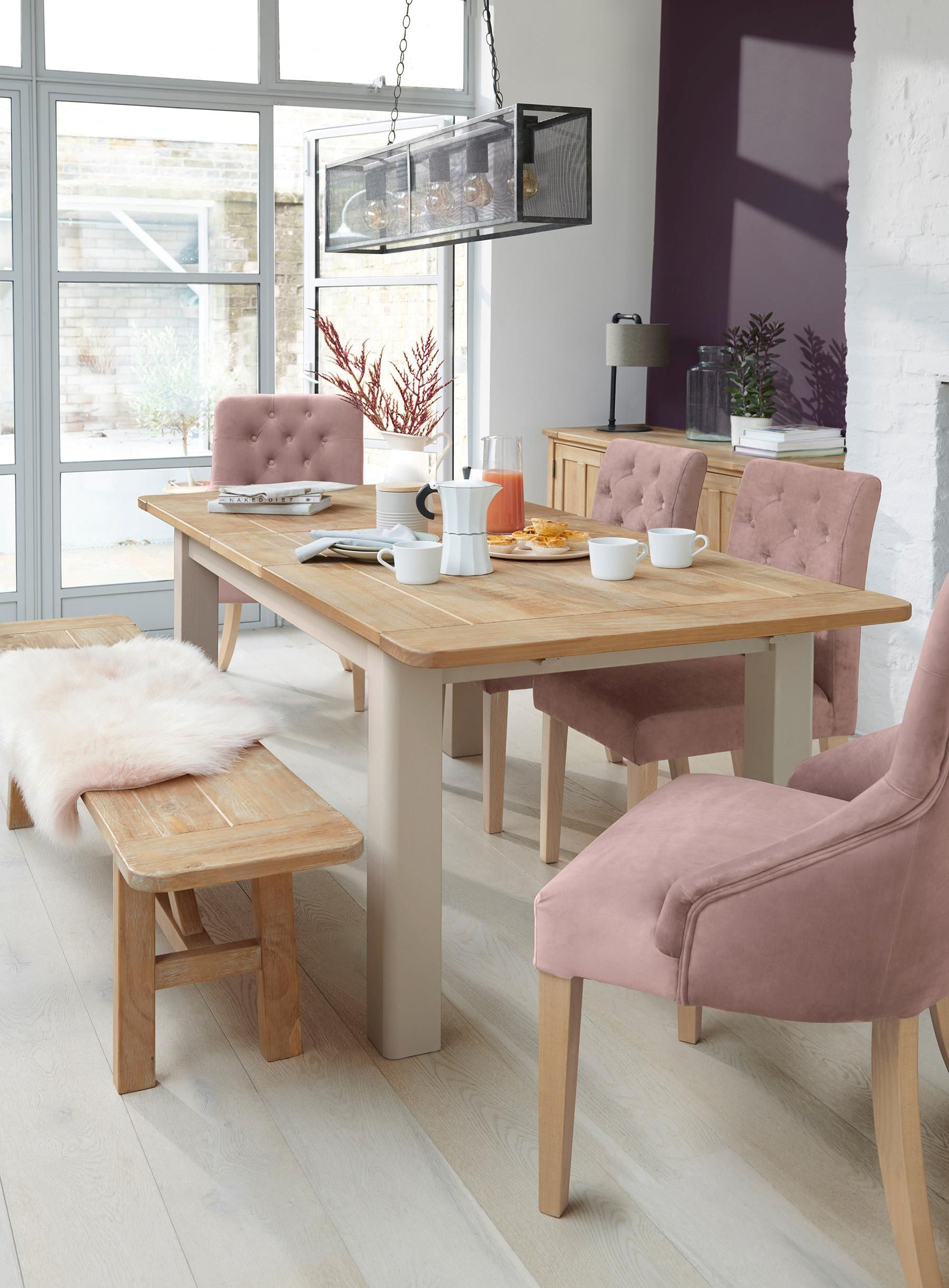 Buy Huxley Painted 6 To 8 Seater Extending Dining Table From With Regard To 2017 Gray Wash Livingston Extending Dining Tables (View 5 of 25)