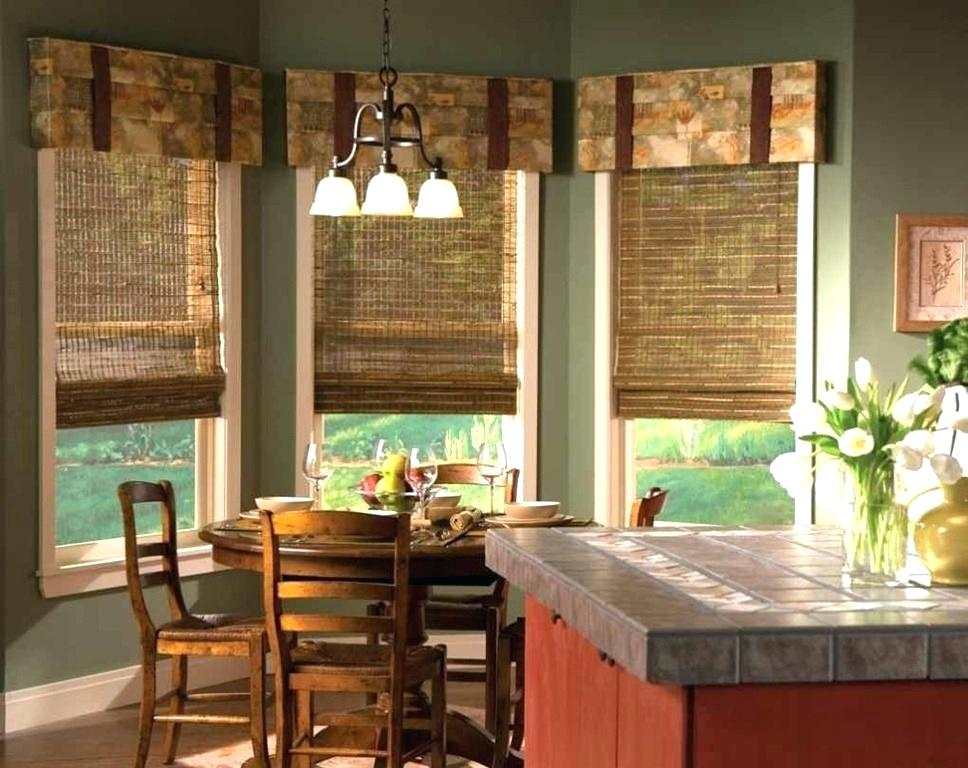 Cabin Curtains Ideas The Right Rustic Kitchen Design For Inside Rustic Kitchen Curtains (View 23 of 25)