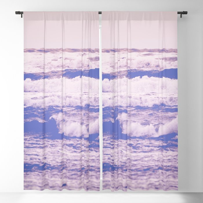 California Girl Beach Blackout Curtaincascadia With Vintage Sea Shore All Over Printed Window Curtains (Image 5 of 25)