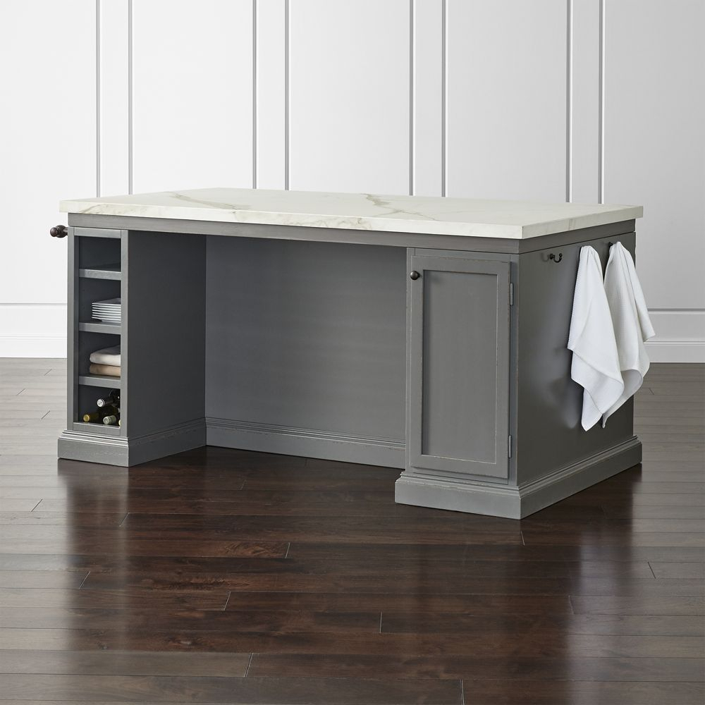 """Cameo 72"""" Large Kitchen Island – Crate And Barrel 