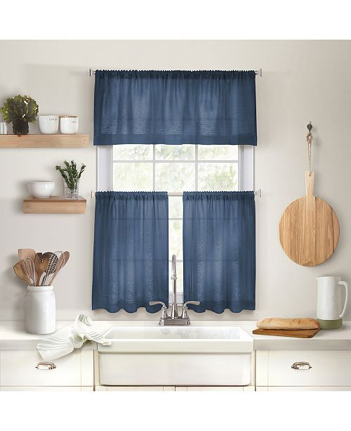 Cameron Kitchen Curtains | Curtains In 2019 | Kitchen With Regard To Wallace Window Kitchen Curtain Tiers (View 2 of 25)