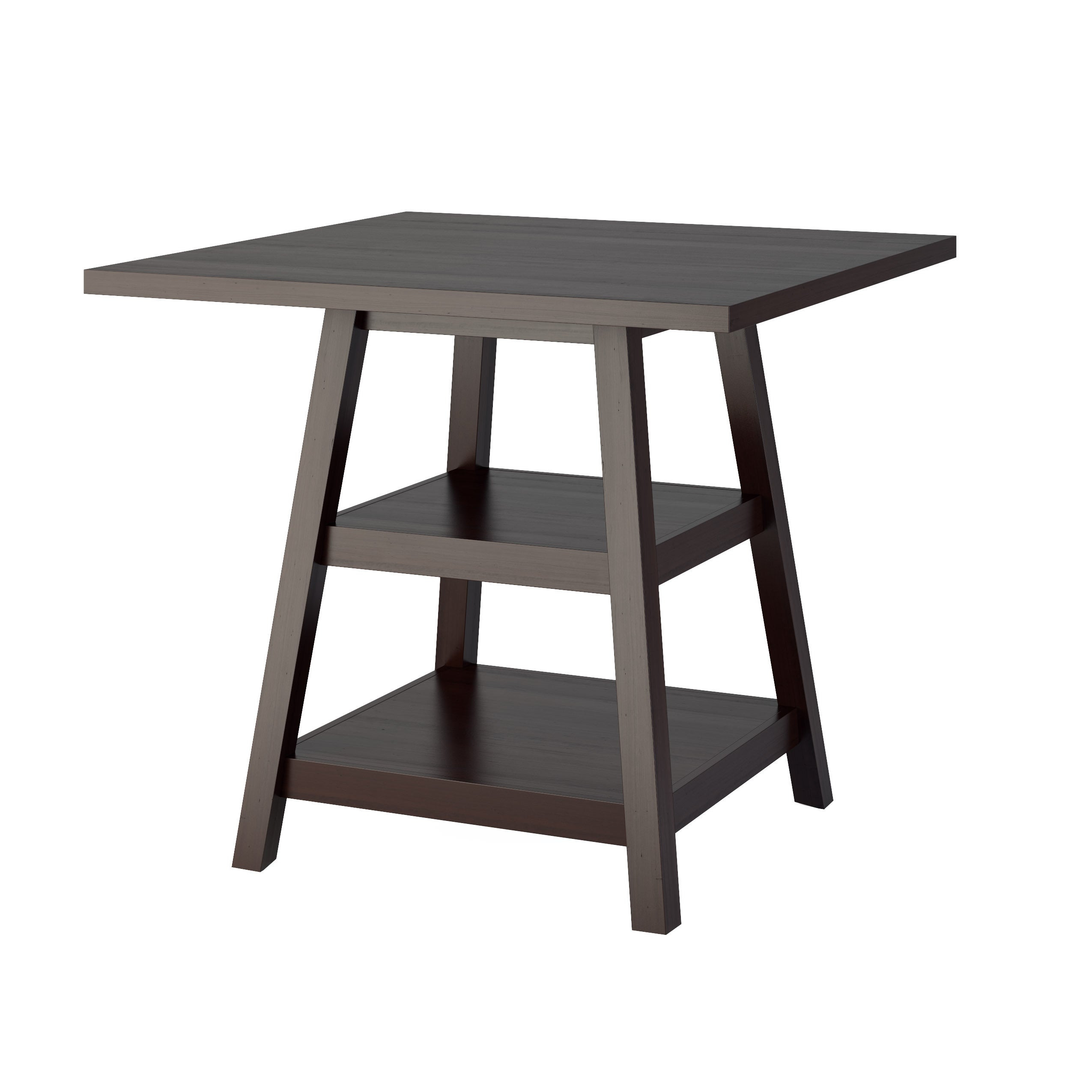 Carson Carrington Fettsater 36 Inch Counter Height Cappuccino Dining Table Within Latest Carson Counter Height Tables (View 19 of 25)