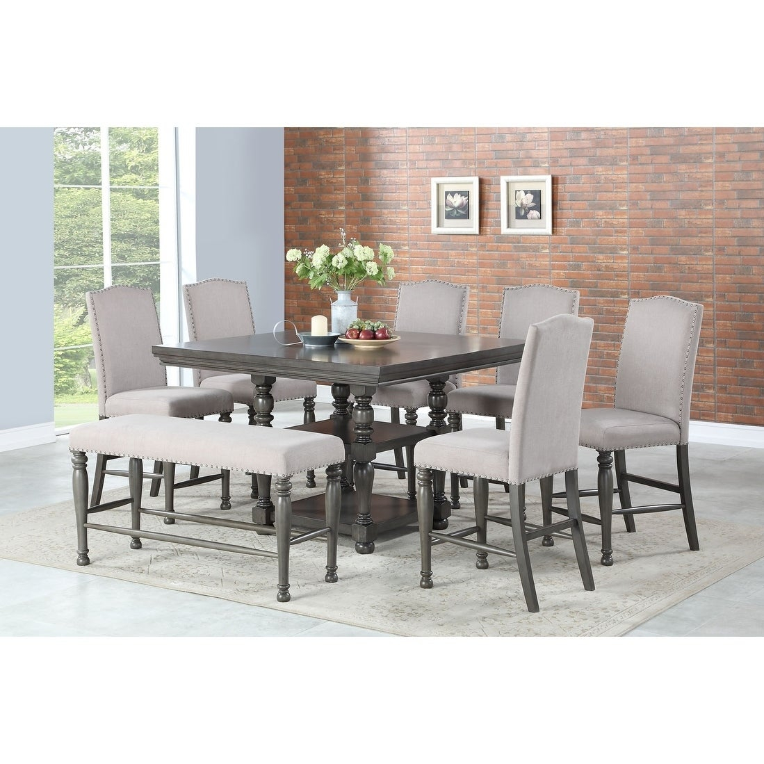 Carson Counter Height Dining Setgreyson Living Throughout Most Recently Released Carson Counter Height Tables (View 5 of 25)