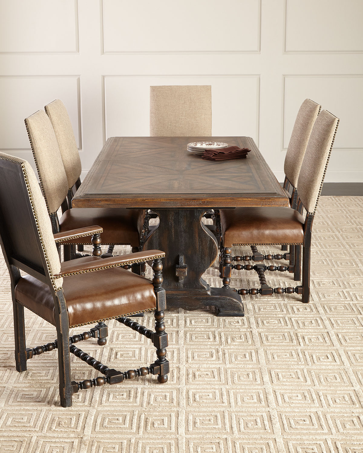 Casella Pedestal Dining Table Regarding Most Popular Avery Rectangular Dining Tables (View 11 of 25)