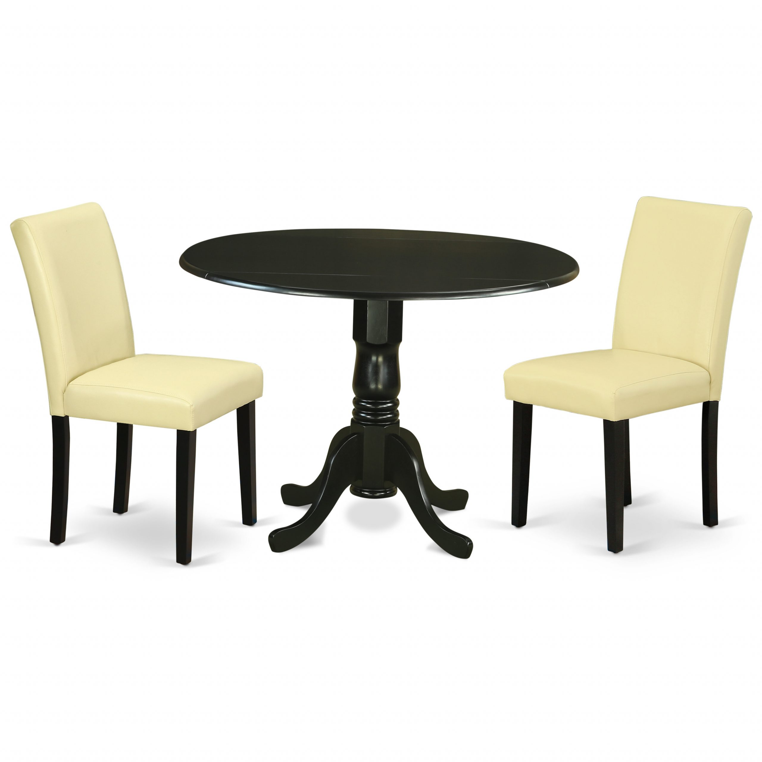 Cecile 3 Piece Drop Leaf Solid Wood Dining Set Pertaining To Recent Mahogany Shayne Drop Leaf Kitchen Tables (View 21 of 25)