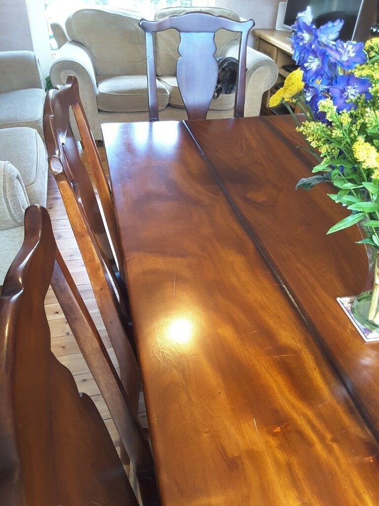Chapman's Six Seater Dining Room Suite | In Whitley Bay, Tyne And Wear | Gumtree Regarding Most Popular Chapman Round Marble Dining Tables (View 19 of 25)