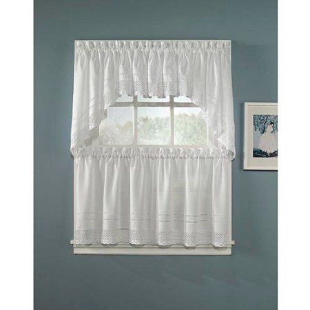 Chf & You Crochet Kitchen Tier Curtains In 2019 | Master Within Classic Kitchen Curtain Sets (View 18 of 25)