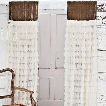 Chichi Petal Curtain With Velvet Header | Windows | Curtains Intended For Grandin Curtain Valances In Black (View 9 of 25)