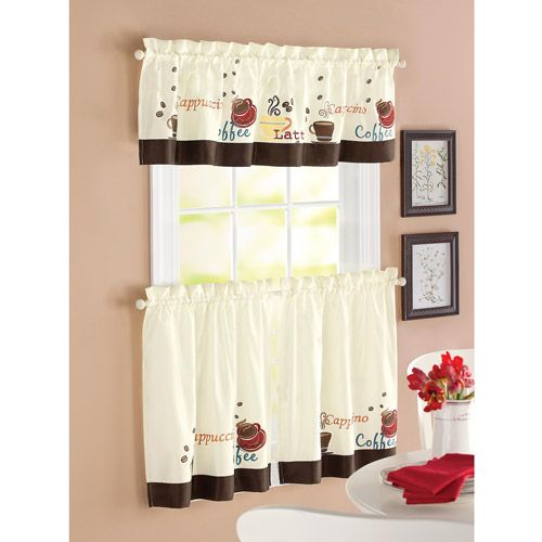 Choosing Light And Elegant Kitchen Curtain | Curtains In Traditional Two Piece Tailored Tier And Valance Window Curtains (View 4 of 25)