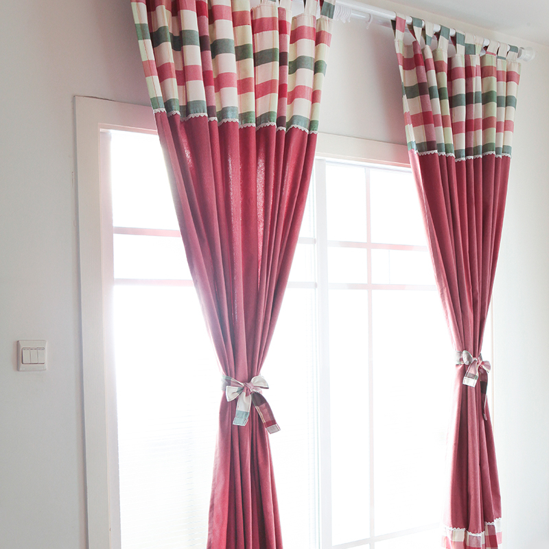 Classic Plaid Curtains Poly/cotton Blend Fabric Curtain With Cotton Blend Classic Checkered Decorative Window Curtains (View 20 of 25)