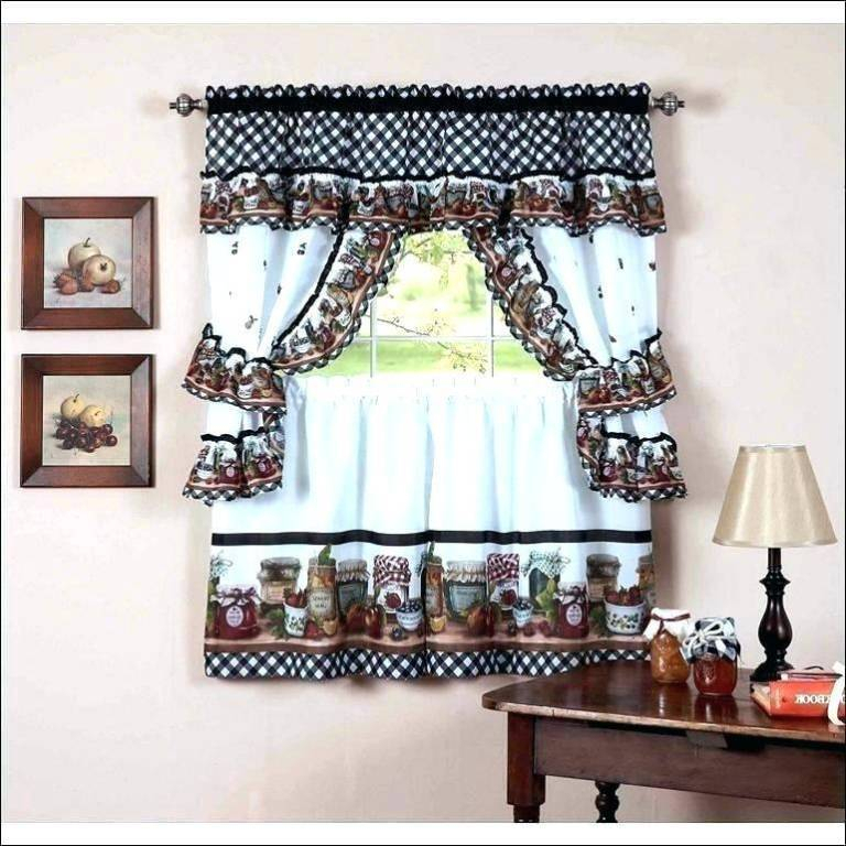 Classy Bathroom Tier Curtains – Fahreddin (View 23 of 25)