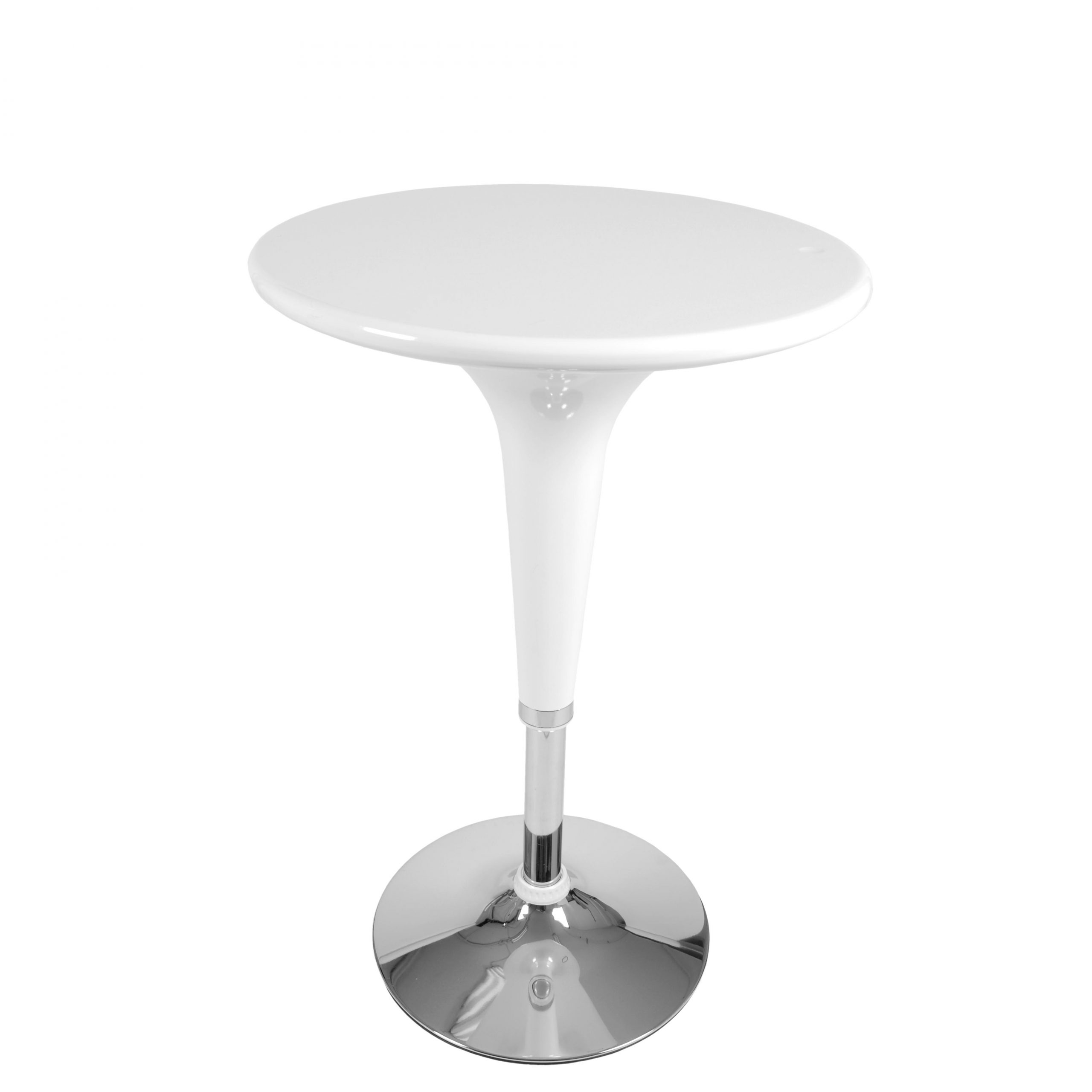 Clyde Adjustable Pub Table – Euro Style Regarding 2018 Clyde Round Bar Tables (View 13 of 25)